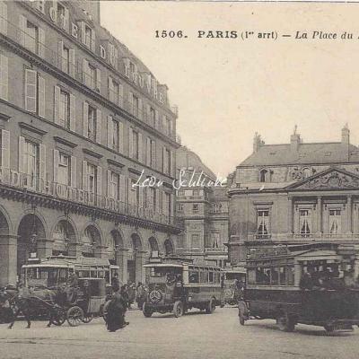 CM 1506 - La Place du Palais Royal