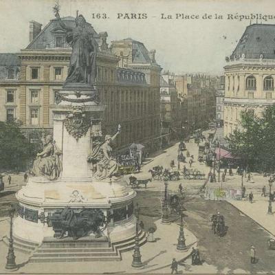 CM 163 - PARIS - La Place de la République