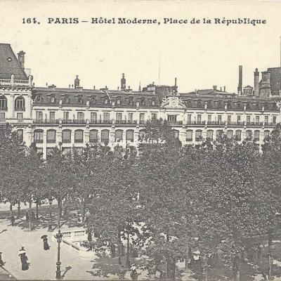 CM 164 - Hôtel Moderne, Place de la République