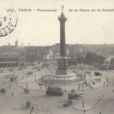 CM 164 - panorama de la Place de la Bastille