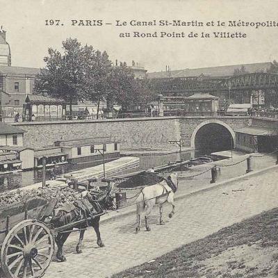 CM 197 - Le Canal St-Martin au Rd·Pt de la Villette