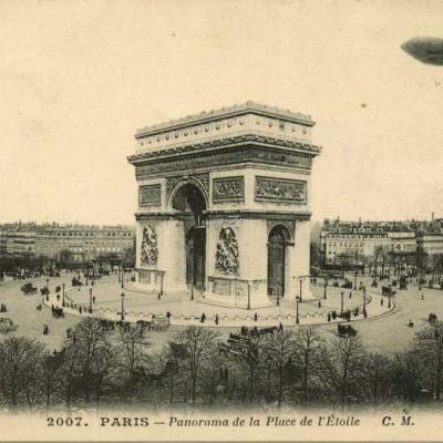 CM 2007 - Panorama de la Place de l'Etoile