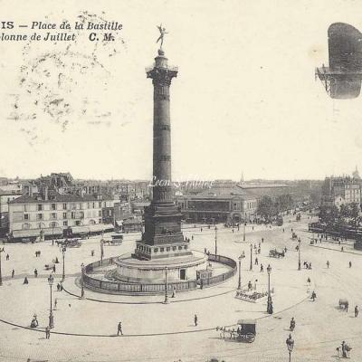 CM 2184 - Place de la Bastille et la Colonne de Juillet