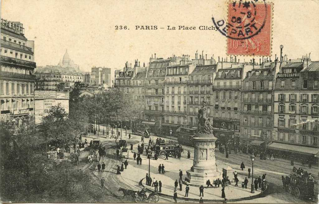 Cm 236 paris la place clichy for Place de clichy castorama