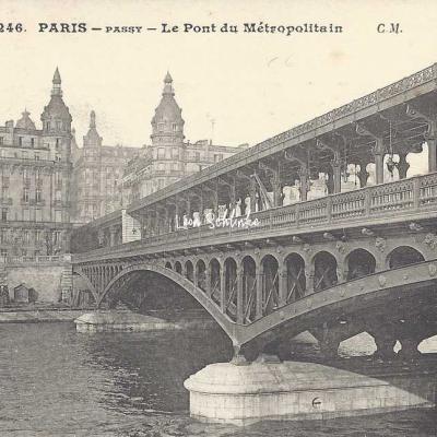 CM 246 - Le Pont du Métropolitain