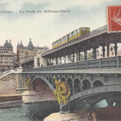 CM 246 - Le Pont du Métropolitain (couleur)