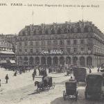 CM - 299 - Les Grands Magasins du Louvre et la rue de Rivoli