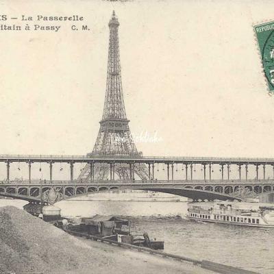 CM 303 - La Passerelle du Métropolitain à Passy
