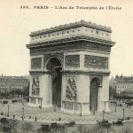 CM 355 - PARIS - L'Arc de Triomphe