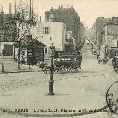 CM 364 - La rue Louis-Blanc et la Place du Combat