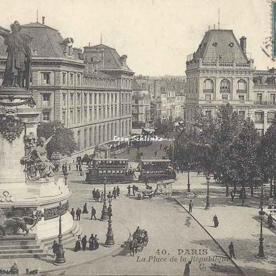 CM 40 - La Place de la République