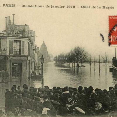 CM 41 - Inondations 1910 - Quai de la Rapée