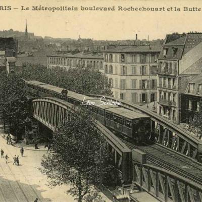 CM 411 - Le Métro Bd Rochechouart et Butte Montmartre