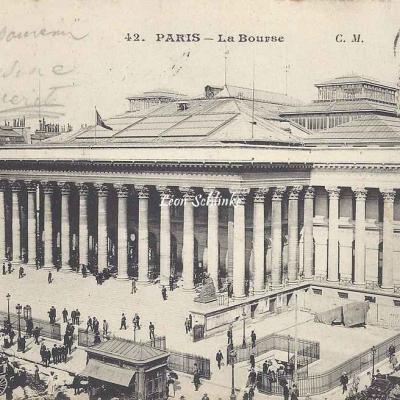 CM 42 - La Bourse