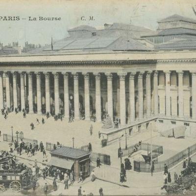 CM 42 - PARIS - La Bourse