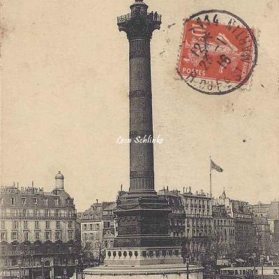 CM 45 - Colonne de Juillet - Place de la Bastille