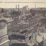 CM 452 - Vue générale du Métro au Rd-point de la Villette