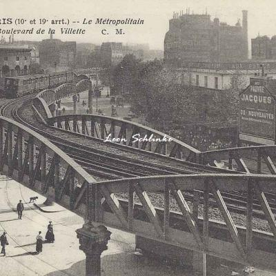 CM 459 - Le Métropolitain Boulevard de la Villette