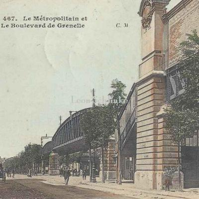 CM 467 - Le Métropolitain et le Boulevard de Grenelle
