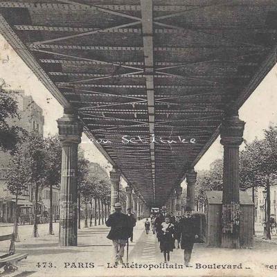 CM 473 - Le Métropolitain - Boulevard de Grenelle