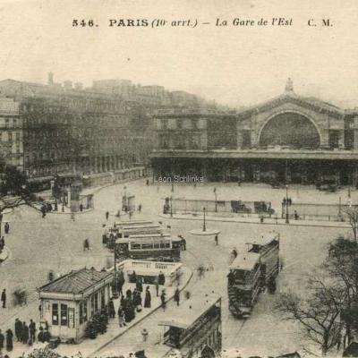 CM 546 - La Gare de l'Est