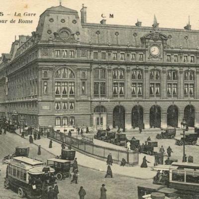 CM 562 - PARIS - La Gare St-Lazare - Cour de Rome