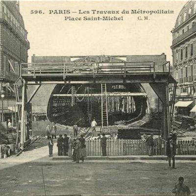 CM 596 - Les Travaux Place Saint-Michel