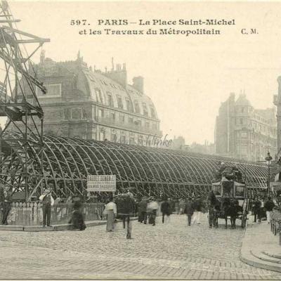 CM 597 - Les Travaux Place Saint-Michel