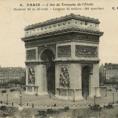 CM 6 - L'Arc de Triomphe de l'Etoile
