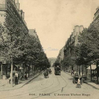 CM 606 - PARIS - L'Avenue Victor-Hugo