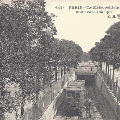 CM 647 - Le Metropolitain, Boulevard Blanqui