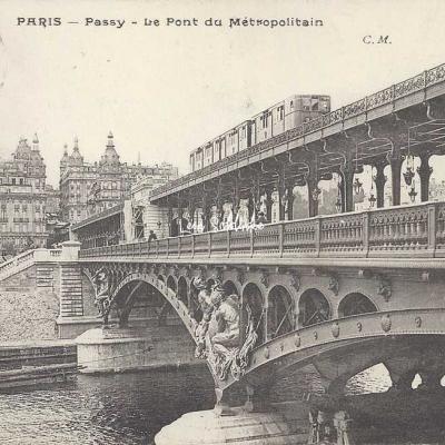 CM 68 - Passy - Le Pont du Métropolitain