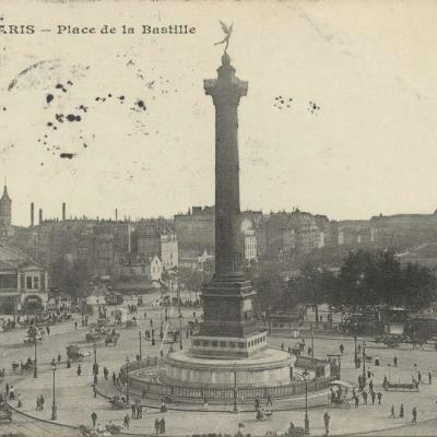 CM 81 - PARIS - Place de la Bastille