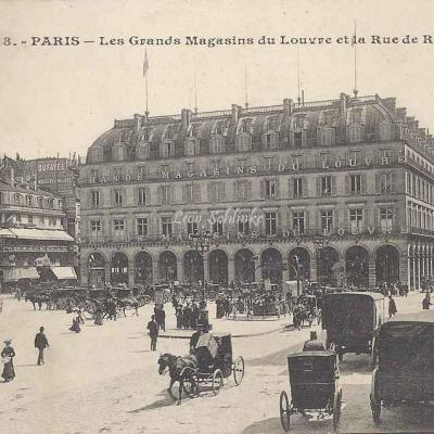 CM - 838 - Les Grands Magasins du Louvre et la Rue de Rivoli