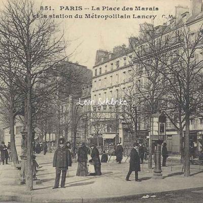CM 851 - La Place des Marais et la Station Lancry