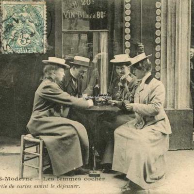 CM 934 - Une partie de cartes avant le déjeuner
