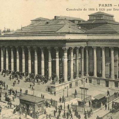 CM - PARIS - La Bourse