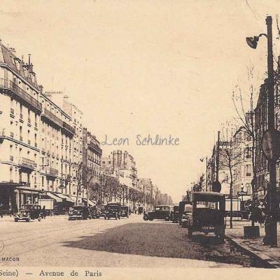 Combier (Lib. H.Coulon) - Avenue de Paris