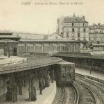 Comptoir industriel - PARIS - Station de Métro, Place de la Bastille
