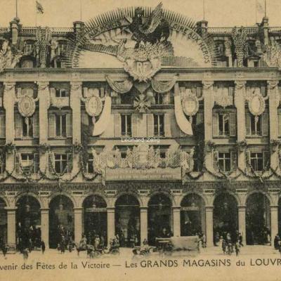 Cormault et Papeghin - Souvenir des Fêtes de la Victoire aux Grands Magasins du Louvre