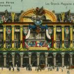 Cormault & Papeghin - Fêtes de la Victoire, Magasins du Louvre