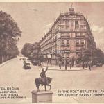 Courmont - Hôtel d'Iéna, avenue Pierre Ier de Serbie