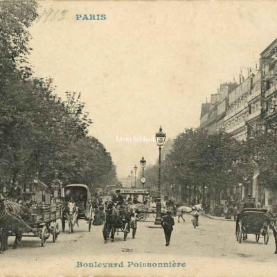 CP 1607 - Boulevard Poissonnière