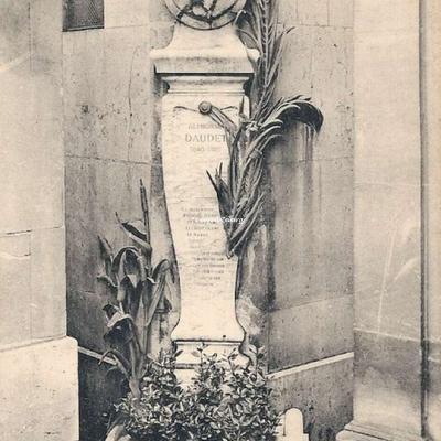 CP 17 - Alphonse Daudet 1840-1897 - Homme de Lettres