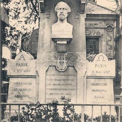 CP 19 - Musset (Alfred de) - 1810-1857 - Poète