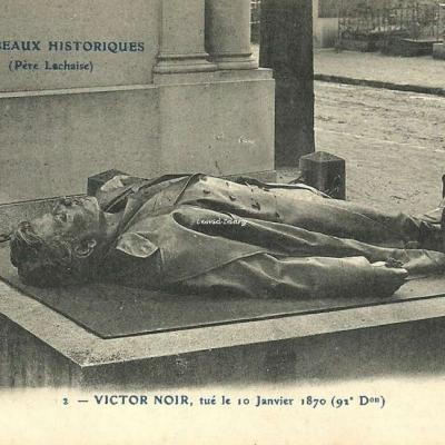 CP 2 - Victor Noir, tué le 10 Janvier 1870