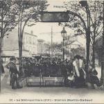 CP 391 - Le Métropolitain - Station Martin-Nadaud