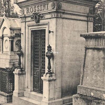 CP 59 - Rossini - 1792-1868 - Célèbre compositeur de musique italien