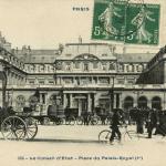 CP 664 - PARIS - Le Conseil d'Etat - Place du Palais-Royal (I°)
