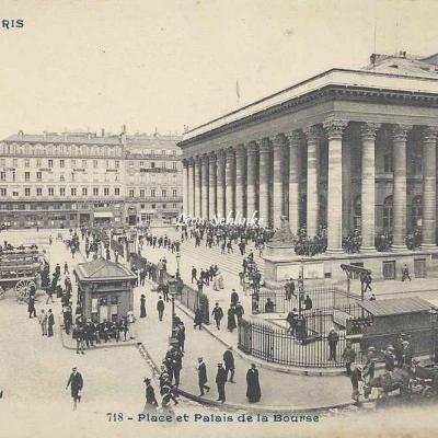CP 718 - Place et Palais de la Bourse